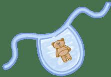 babero de bebé