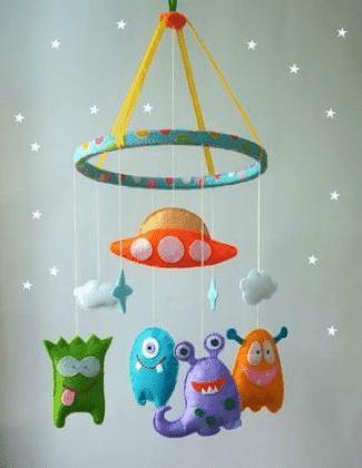 ▷ Los móviles infantiles más locos & originales para regalar a tu bebé 👶.