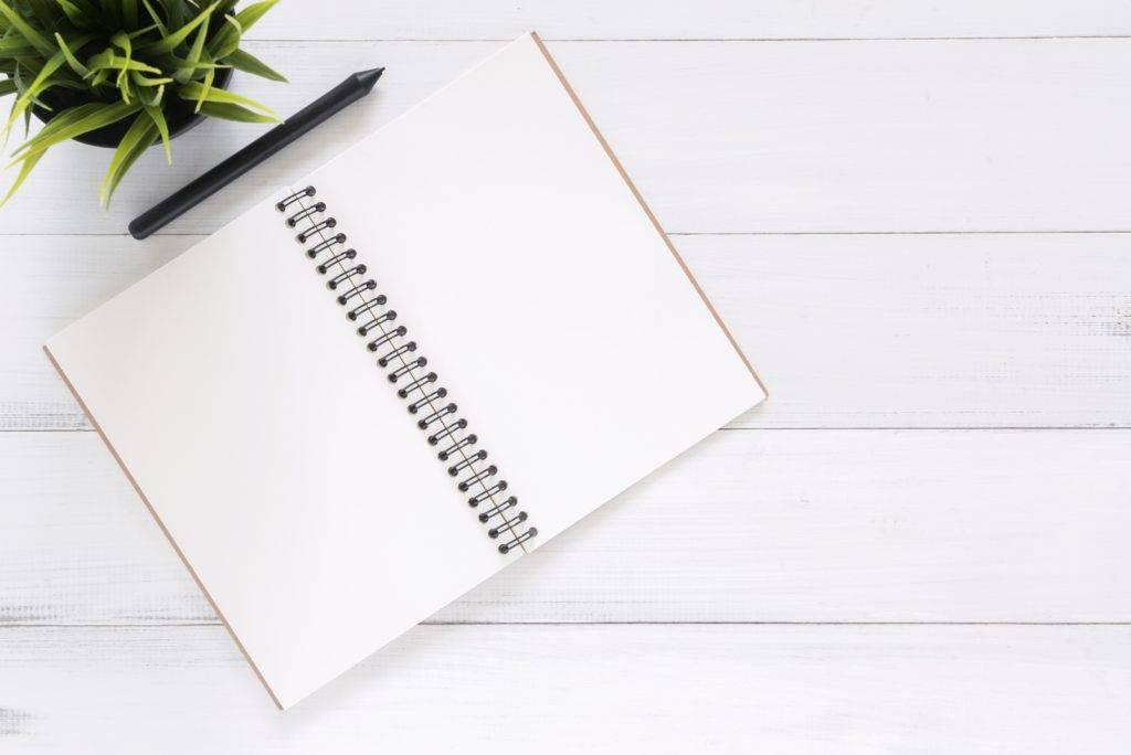 cuaderno para bautizo