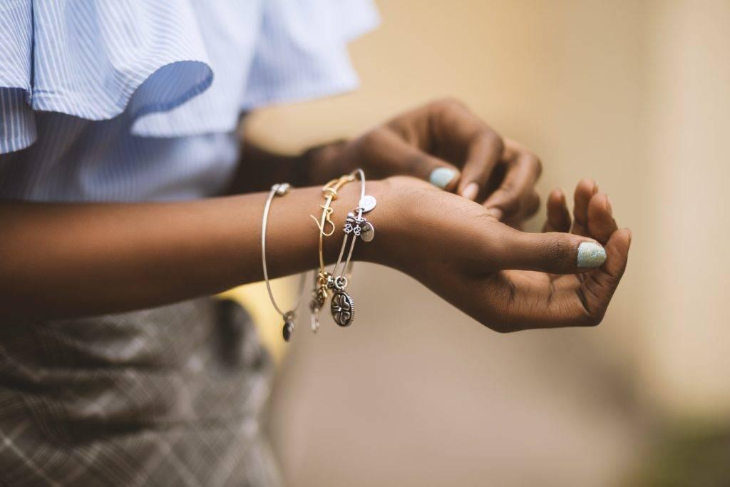 pulseras para bautizo